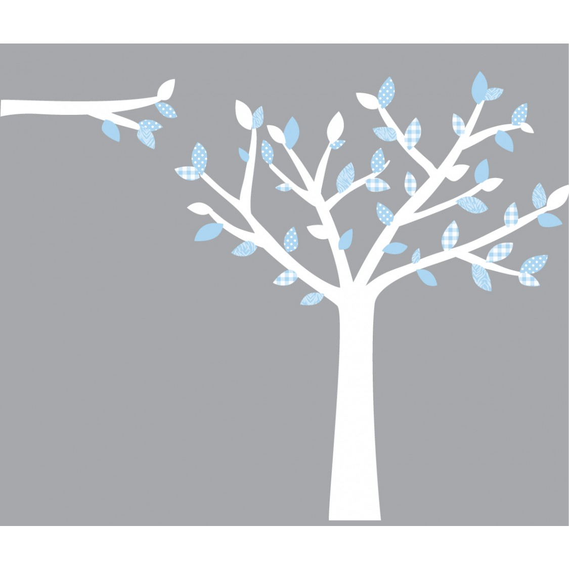 Tree Wall Murals and Tree Decals can turn a Blank Wall into Art