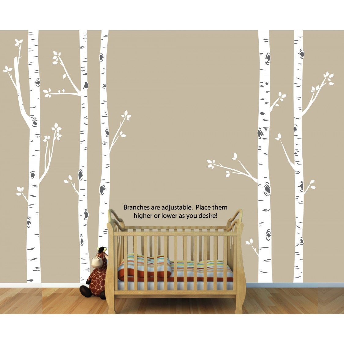 Tree wall decals with large tree wall sticker for play rooms birch tree wall decals with large tree wall sticker for play rooms amipublicfo Choice Image