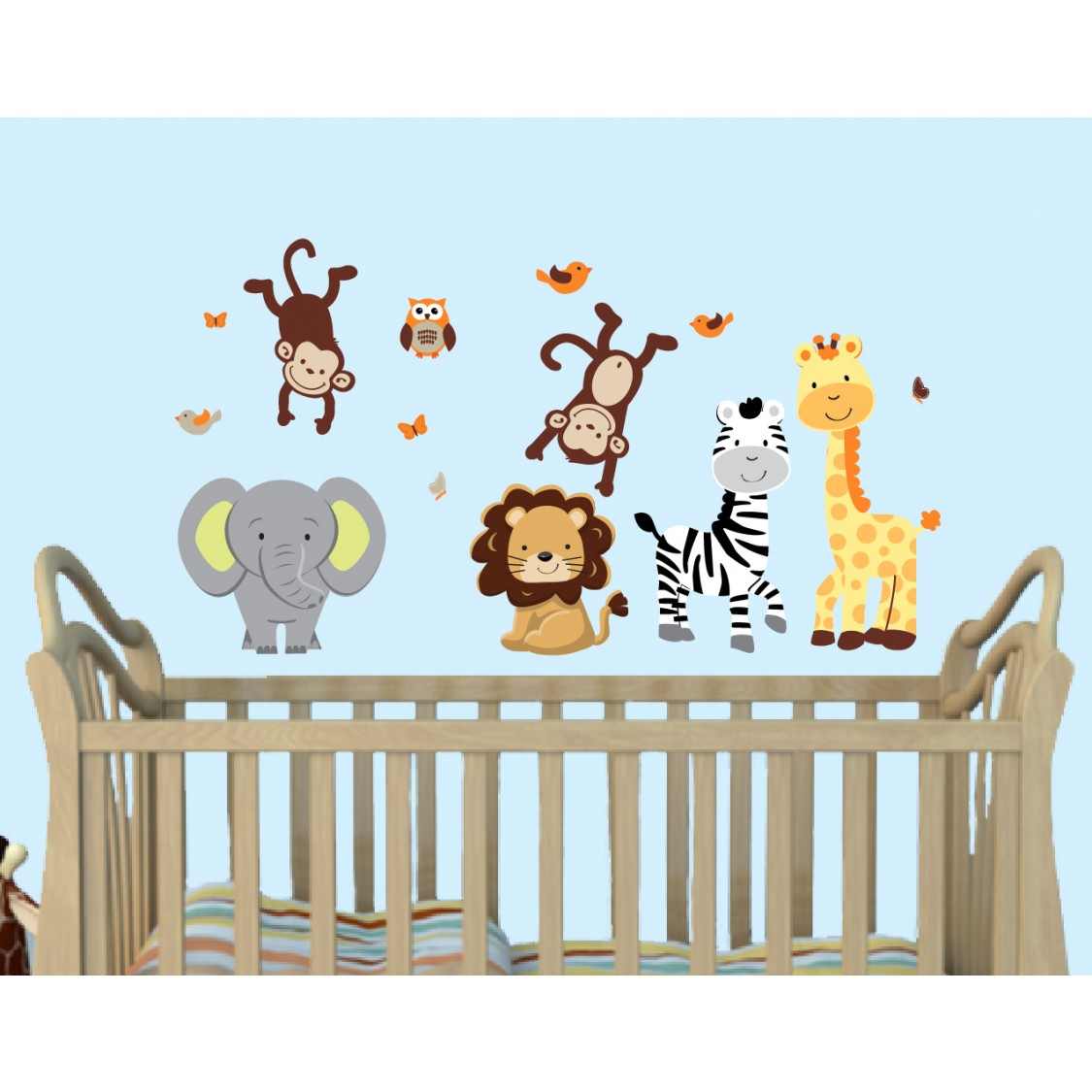 Pride Jungle Wall Murals For Boys Rooms