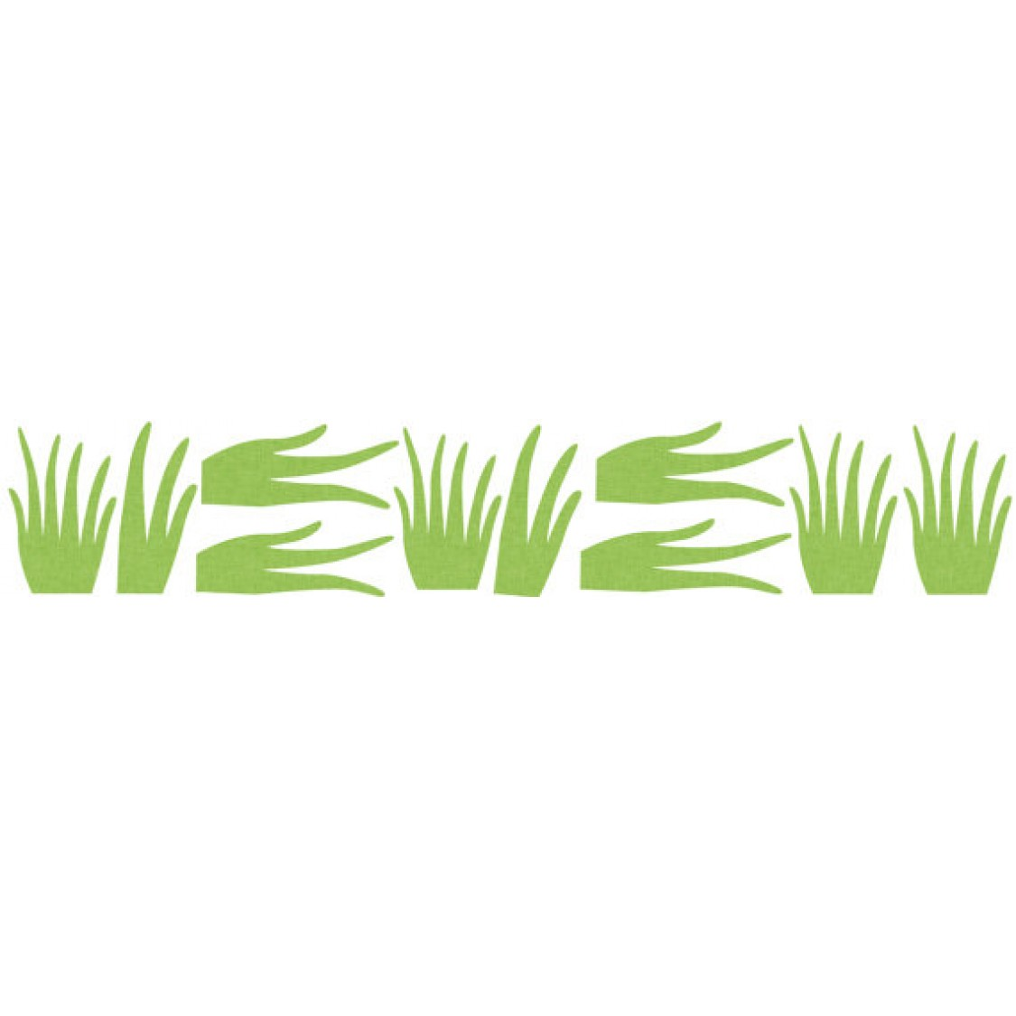 Grass Wall Decals for Nursery and Baby Rooms