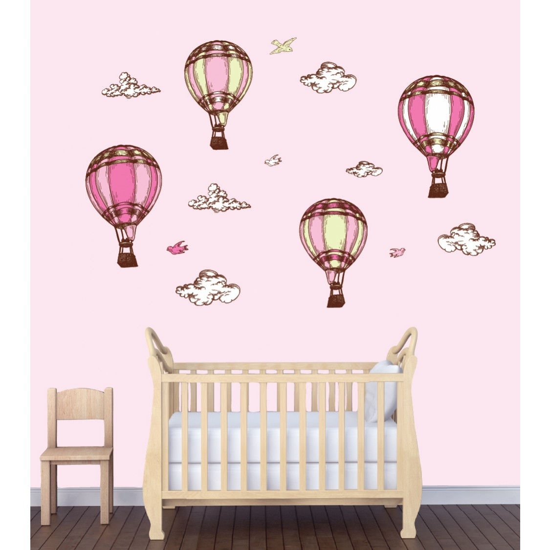 Childrens Bedroom Wall Stickers U0026 Hot Air Balloon Wall Decor For Kids Rooms