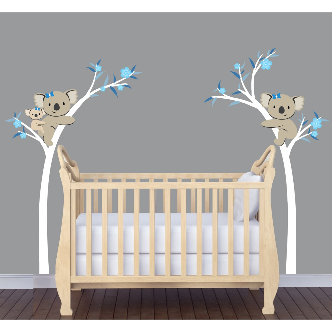 Koala Wall Decal Tree For Play Rooms