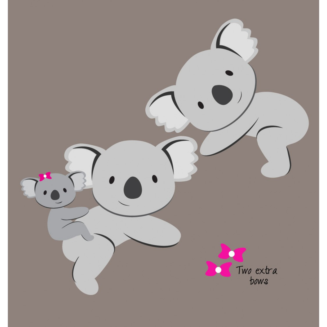 Koala Stickers Animals Stickers For Nursery Or Baby Room
