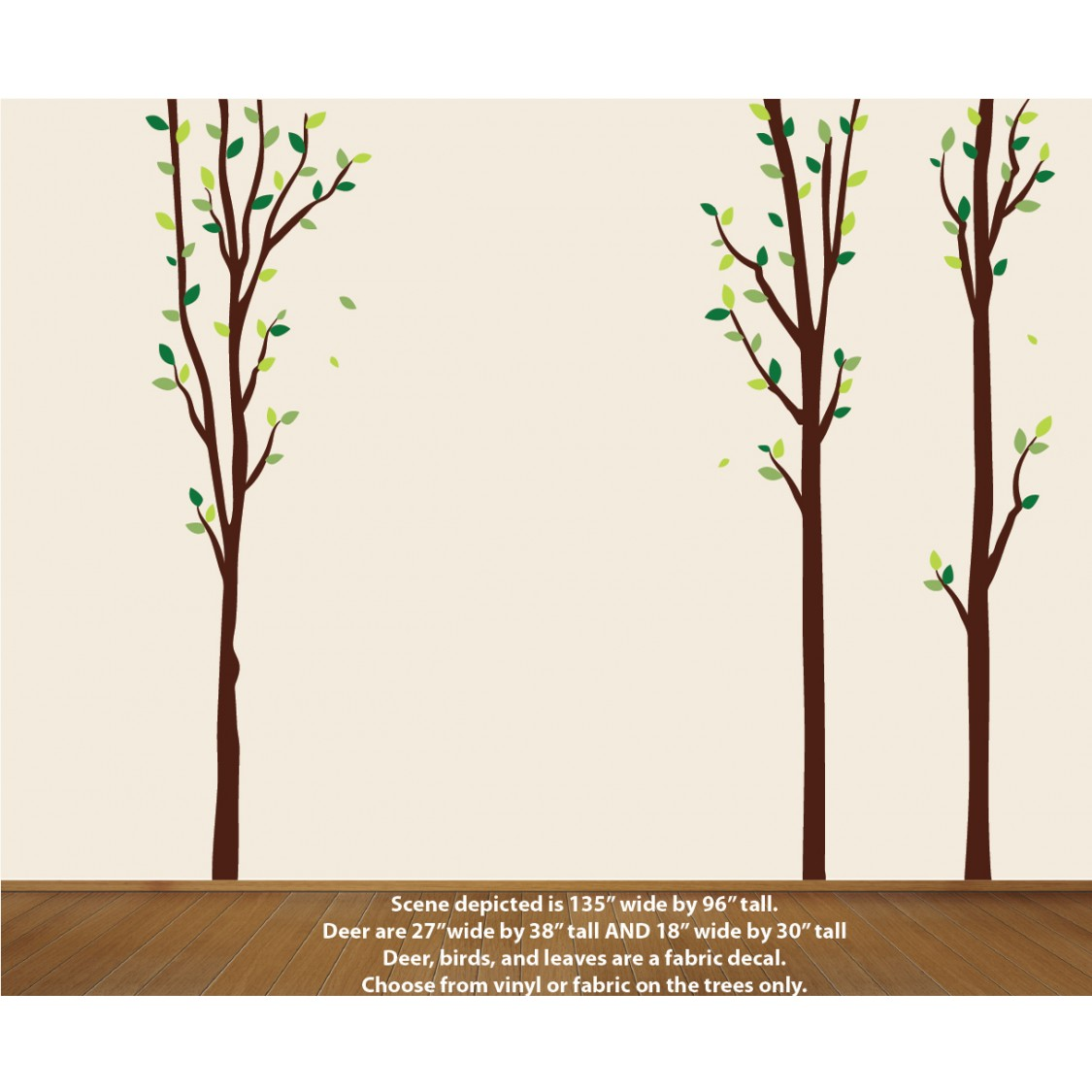 Nature Tree Decal For Nursery