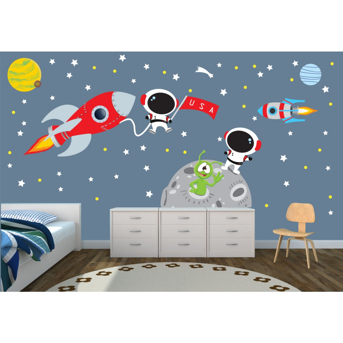 Star Wall Decals For Nursery For Kids
