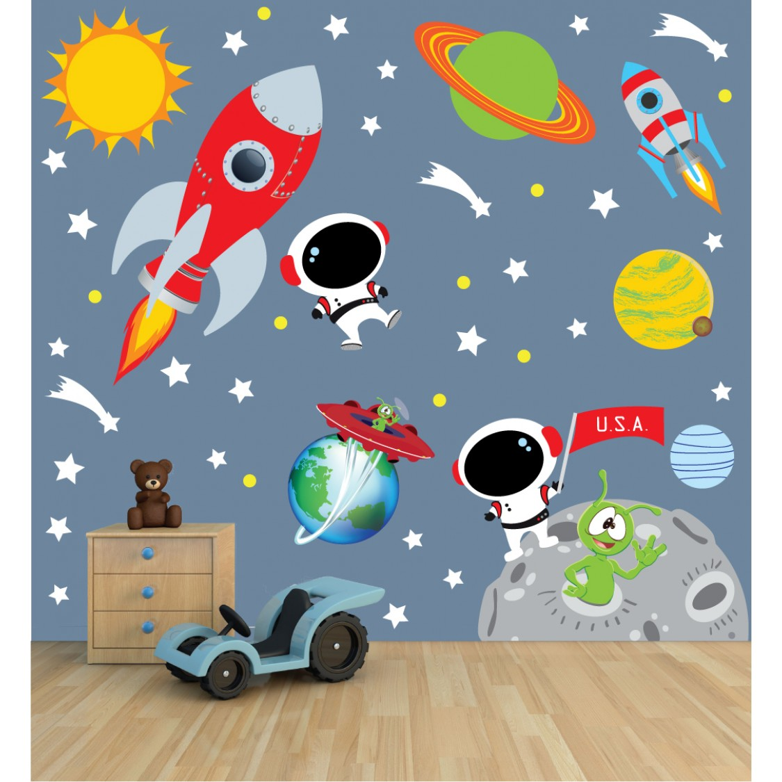 Planet Decals For Kids