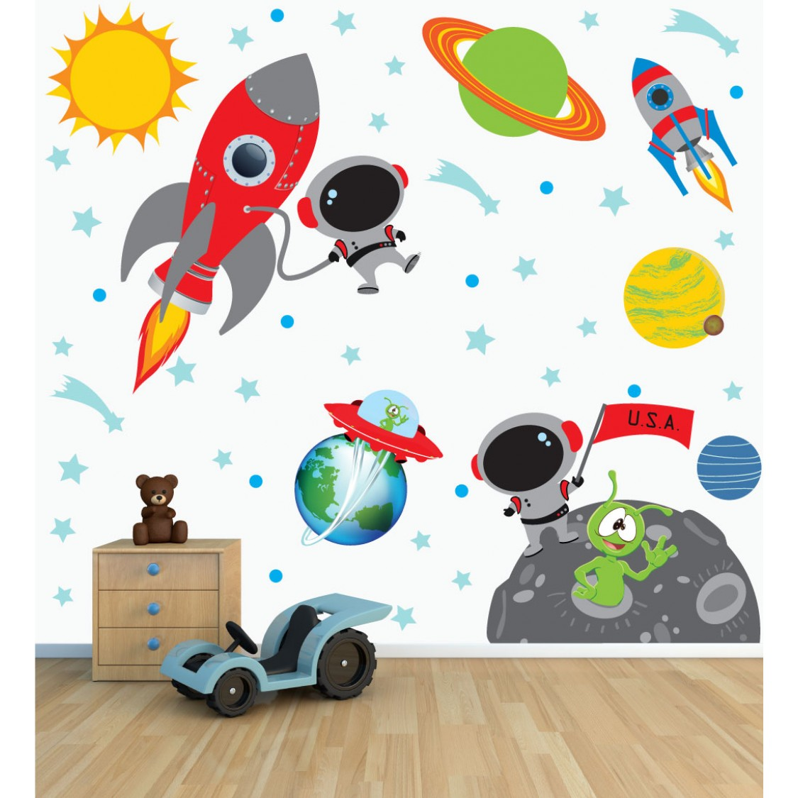 Solar System Wall Decals