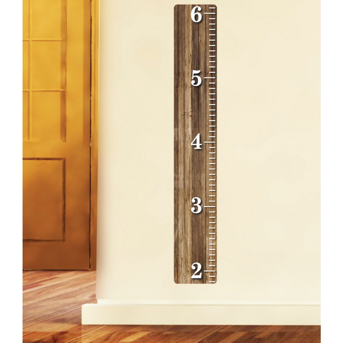 Wall Height Chart For Kids Playroom