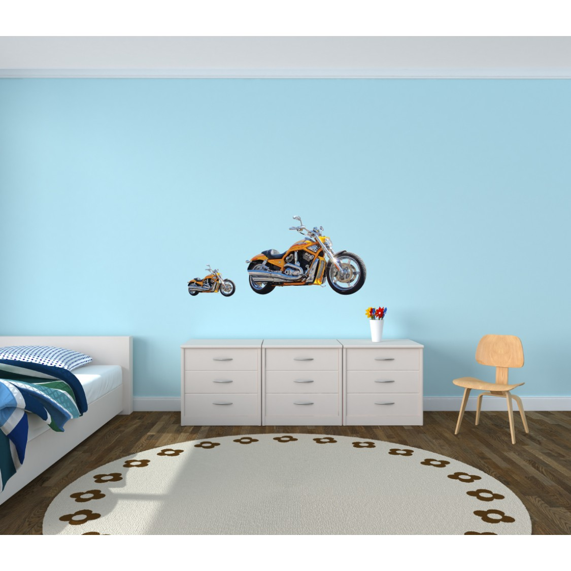 Kids Wall Stickers For Bedrooms With Cars Wall Decals For Kids Rooms