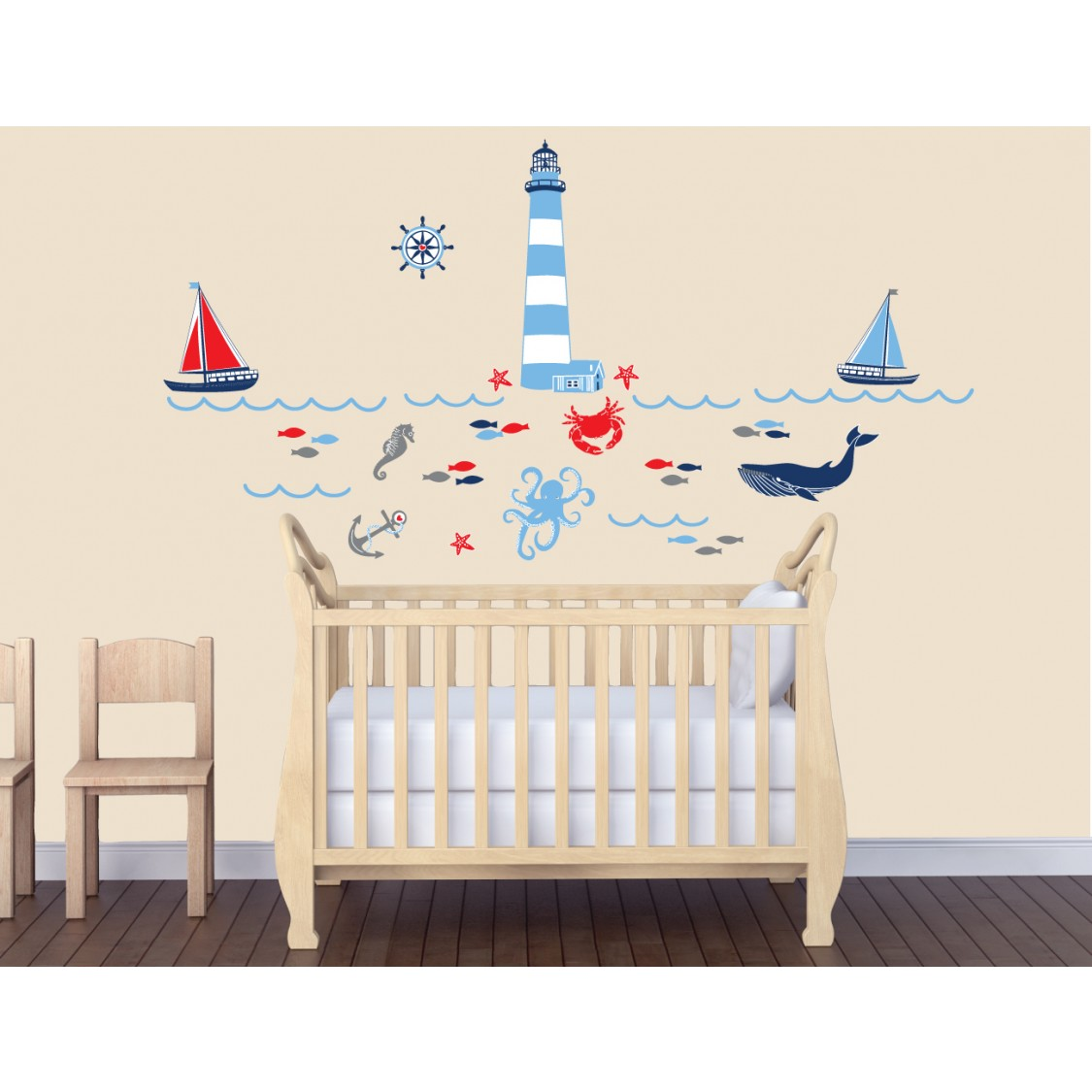 full size underwater murals underwater murals children wall decals large wall decals with nautical wall decals for kids rooms