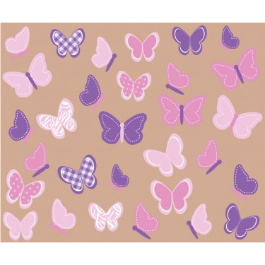 Custom Butterflies Wall Decor For Kids Rooms