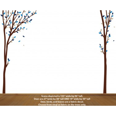 Forest Wall Decals For Boys Walls