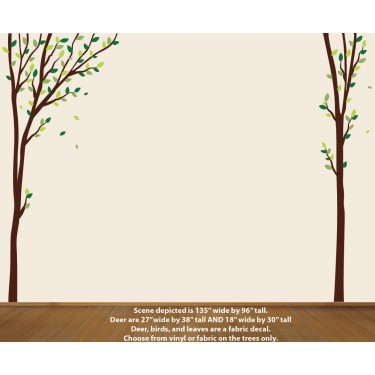 Nature Trees Wall Decal For kids Rooms
