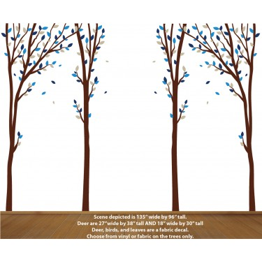Nature Wall Decals for Baby