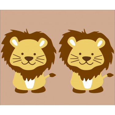 Custom Lion Stickers For Kids