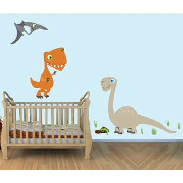 Giant Wall Stickers With Dinosaurs Wall Stickers For Play Rooms
