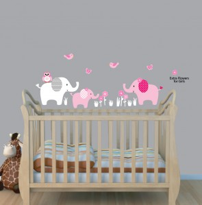 Use Elephant Wall Decals And Elephant Stickers To Create An - Wall decals for nursery