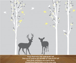 Yellow Nature Decal
