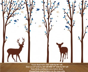 Home Decor Forest Decal