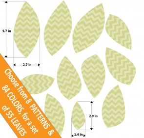 Leaf Stickers For Kids