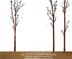 Nature Wall Decals for Boys Room