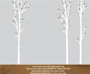 Nature Tree Decal For Bedroom