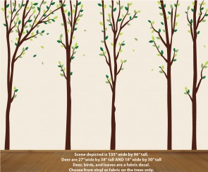 Tree Decal Wall Decor