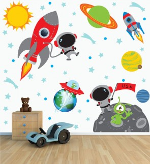 Solar System Wall Decals Part 38