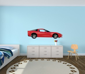 Big Decals With Car Decals For Play Rooms
