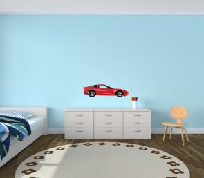 Reusable Wall Decals With Race Car Wall Stickers For Children