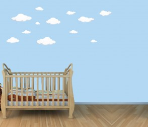 Removable Wall Decals Nursery & Cloud Wall Sticker
