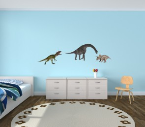 Realistic Wall Stickers For Kids Bedrooms & Dino Decals For Children