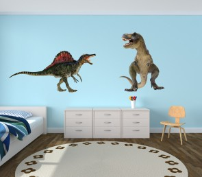 Realistic Large Wall Stickers With Dino Wall Decals For Boys
