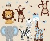 Expedition - Little Boy Blue  - Animals Only - Wall Decal