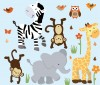 Wild Animals - Safari Pride - Animal Wall Decals