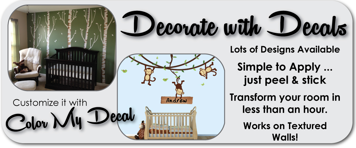 Decorate with Wall Decals